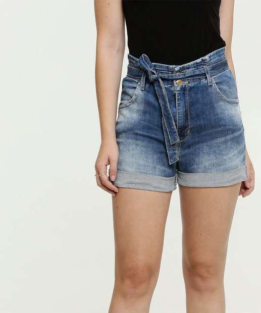 Image_Short Jeans Feminino Clochard Barra Desfiada Sawary