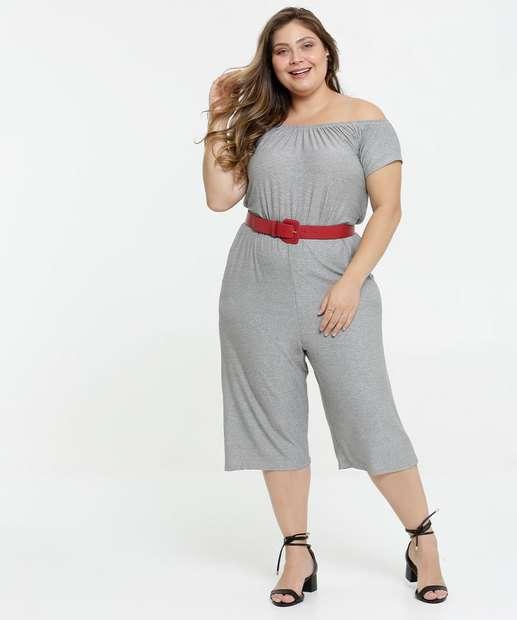 Image_Macacão Feminino Ombro a Ombro Pantacourt Plus Size