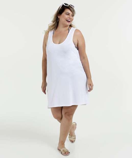 Vestido Feminino Saída de Praia Plus Size Marisa 7988d2c4142