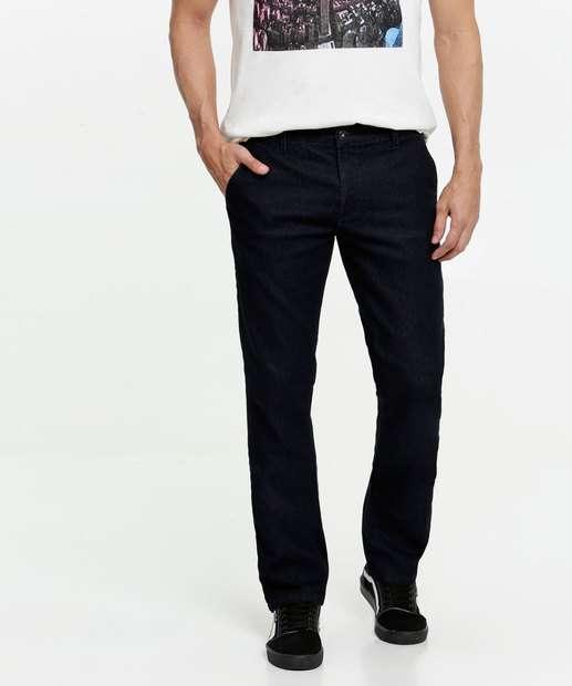 Image_Calça Masculina Jeans Stretch Bolsos Slim MR