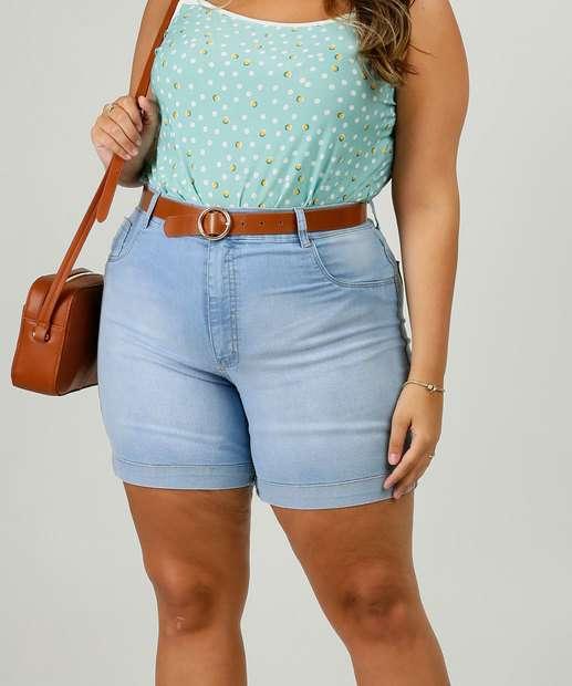 Image_Short Plus Size Feminino Jeans Barra Desfiada Razon