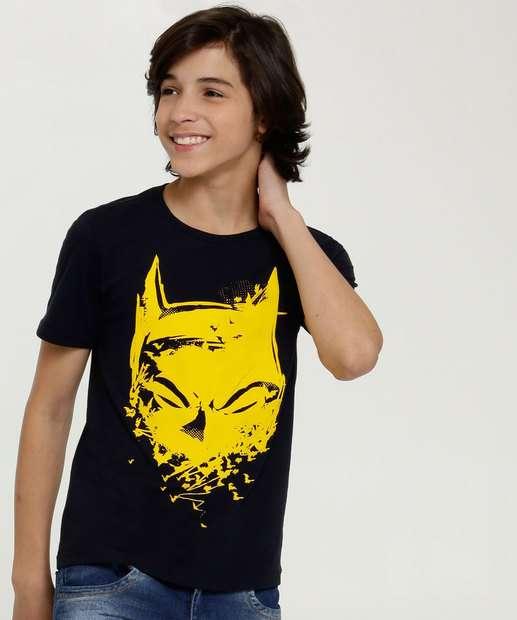 Image_Camiseta Juvenil Estampa Batman Liga da Justiça