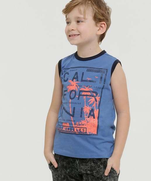 Image_Regata Infantil Estampa California Tam 4 a 10