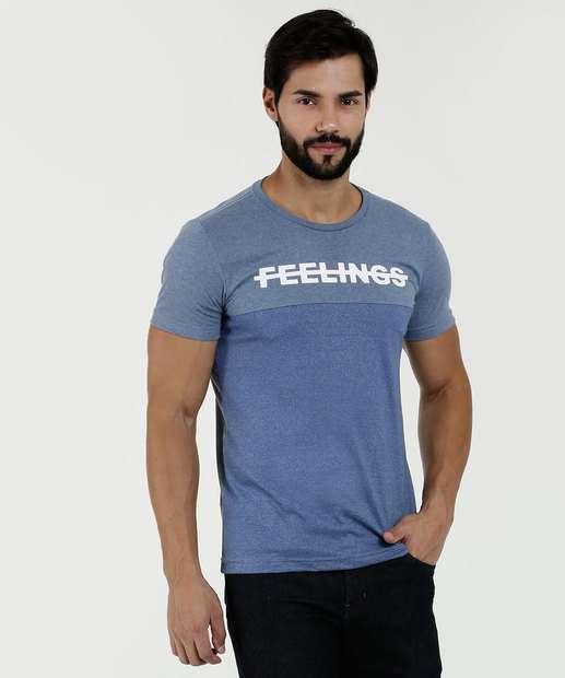 5a4f01c5d Camiseta Masculina Estampa Frontal Manga Curta Rock   Soda