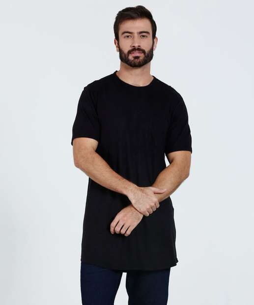 Image_Camiseta Masculina Bolso Longline Marisa