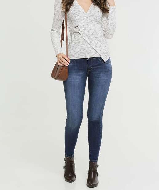 Image_Calça Skinny Jeans Hot Pants Feminina Sawary