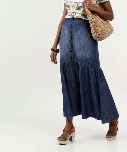 Image_Saia Feminina Longa Jeans Gups