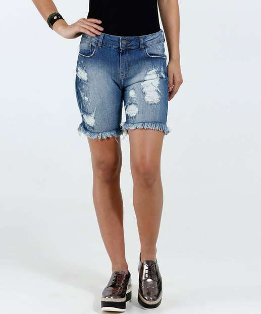 Image_Short Feminino Jeans Destroyed Marisa