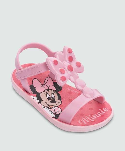 Image_Sandália Infantil Bebê Minnie Bow Fever Grendene Kids 21945