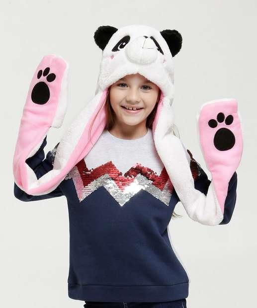 Image_Touca Infantil Pelúcia Panda Marisa
