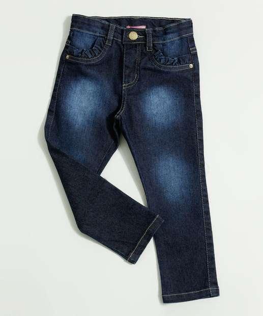 Image_Calça Infantil Jeans Babado Marisa