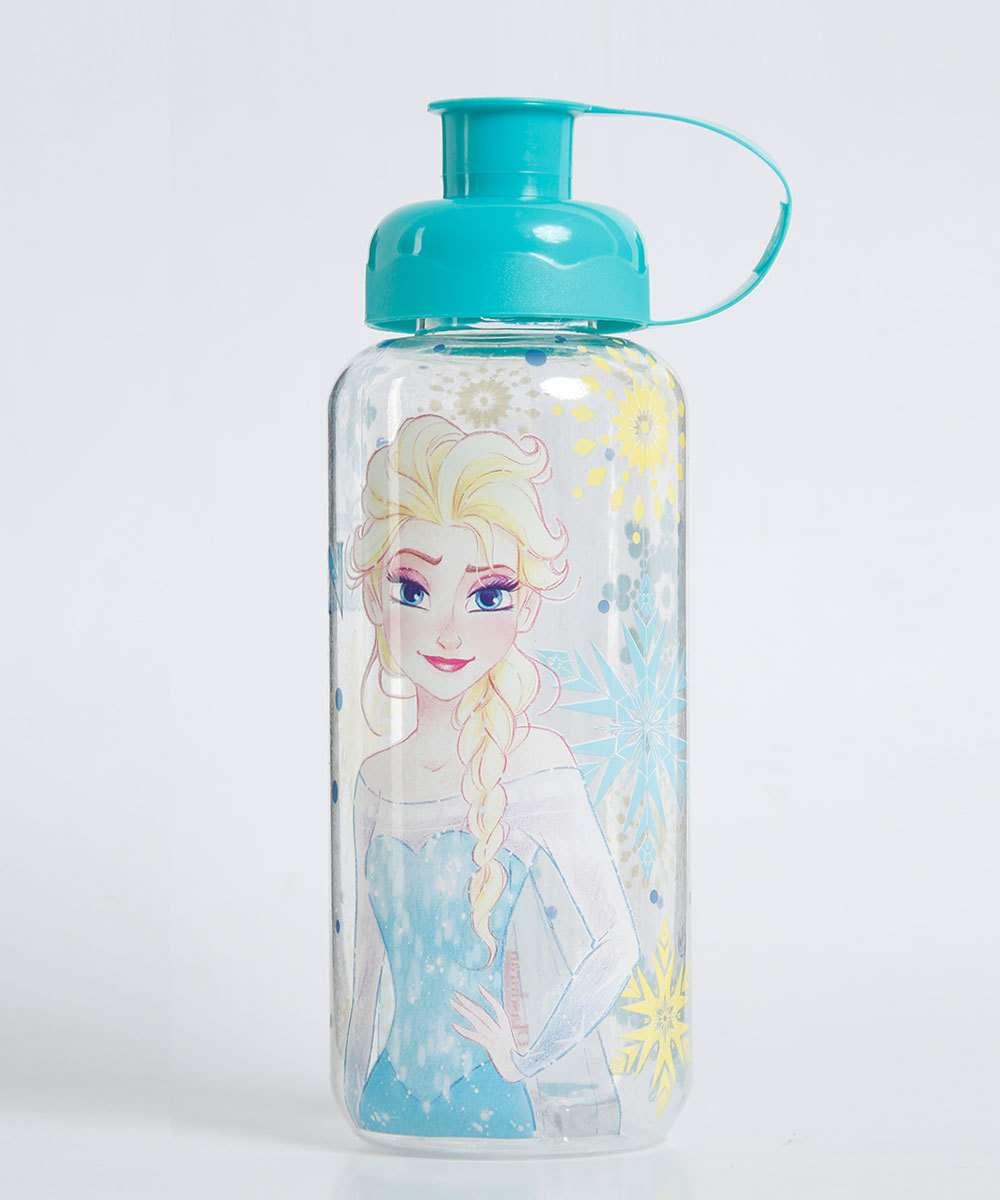 Garrafa Squeeze Princesa Elsa Frozen Disney 550ML Plasduran