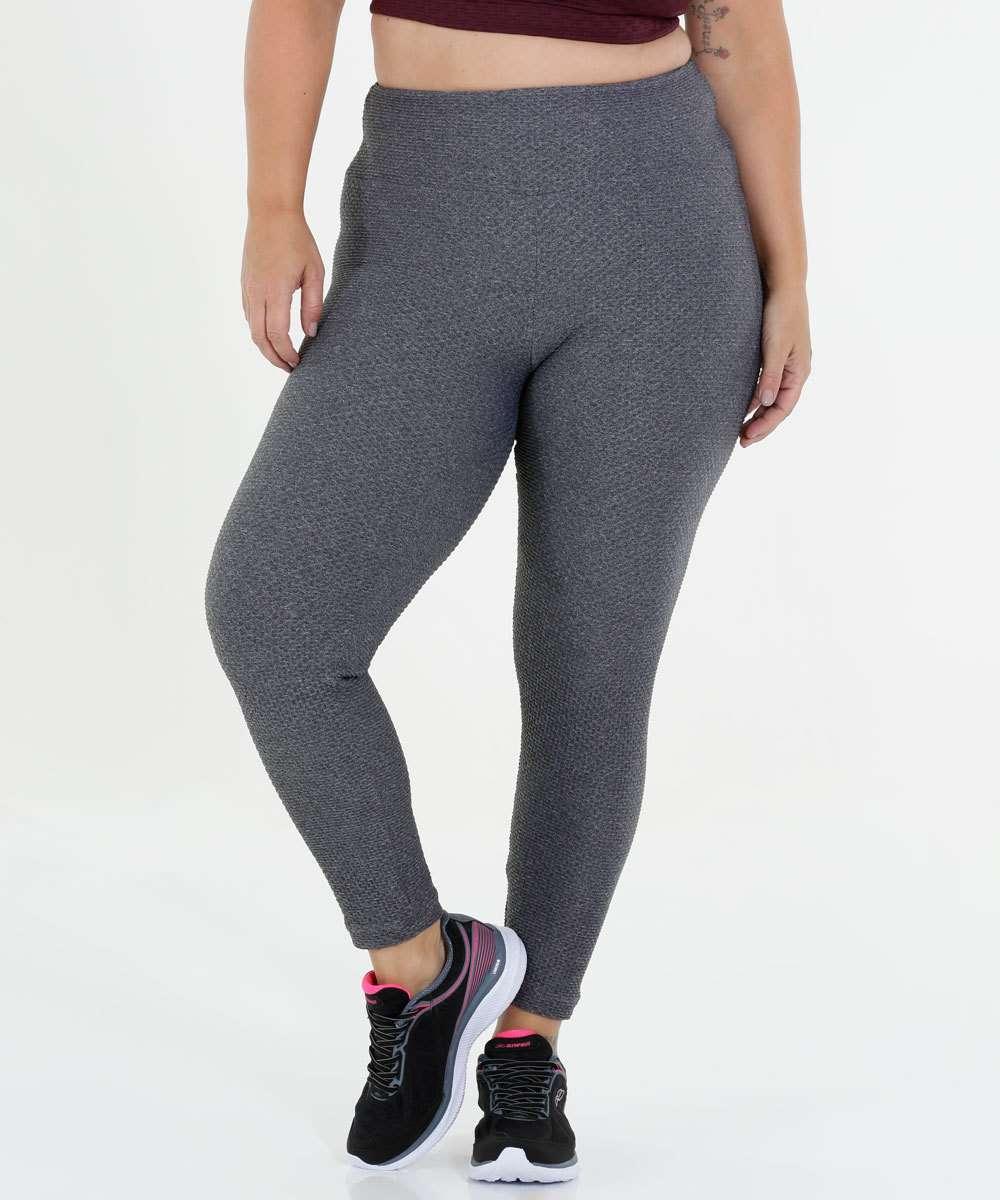57a9b7eb0 Calça Feminina Plus Size Legging Fitness Marisa | Marisa