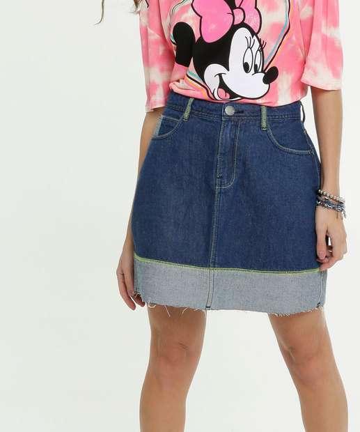 Image_Saia Feminina Jeans Recorte Marisa