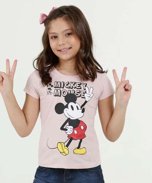 Image_Blusa Infantil Estampa Frontal Mickey Manga Curta Disney