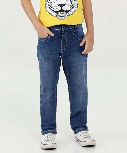 Image_Calça Infantil Jeans Bolsos Marisa