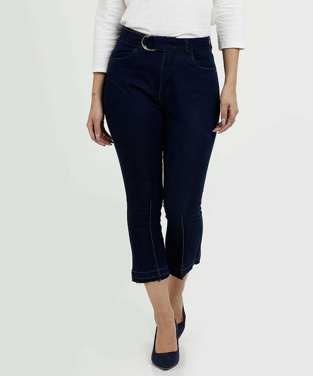Calça Feminina Jeans Capri Marisa