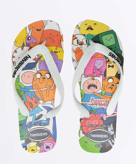 Image_Chinelo Havaianas Infantil Adventure Time