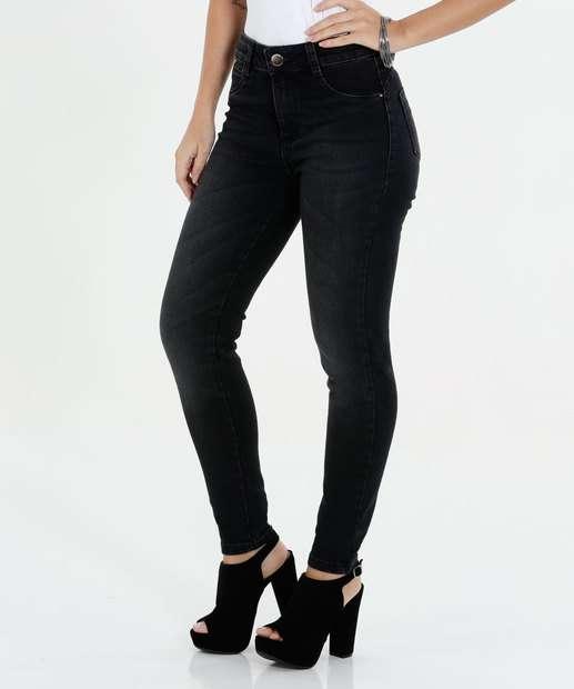 Image_Calça Feminina Skinny Jeans Sawary