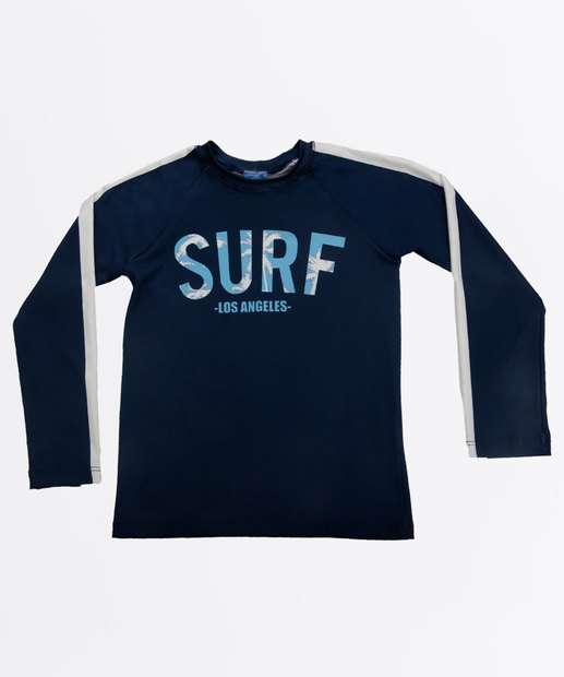 Image_Camiseta Praia Infantil Estampa Frontal Proteção UV MR