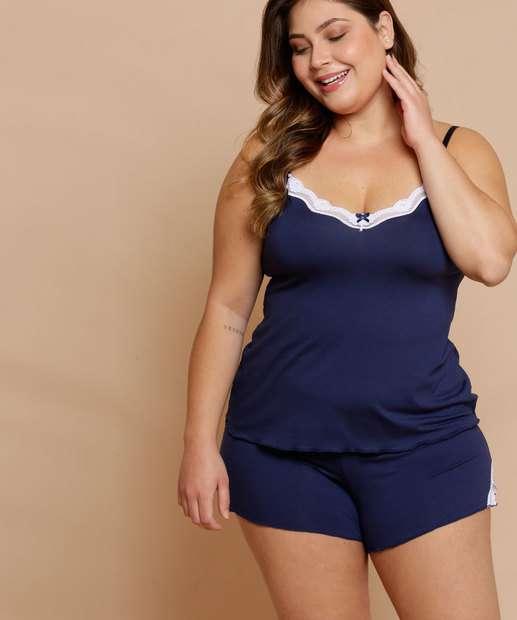Image_Pijama Feminino Renda Plus Size DeMillus