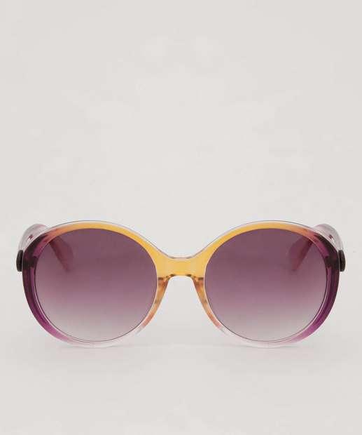 Image_Óculos de Sol Feminino Redondo Degradê Marisa
