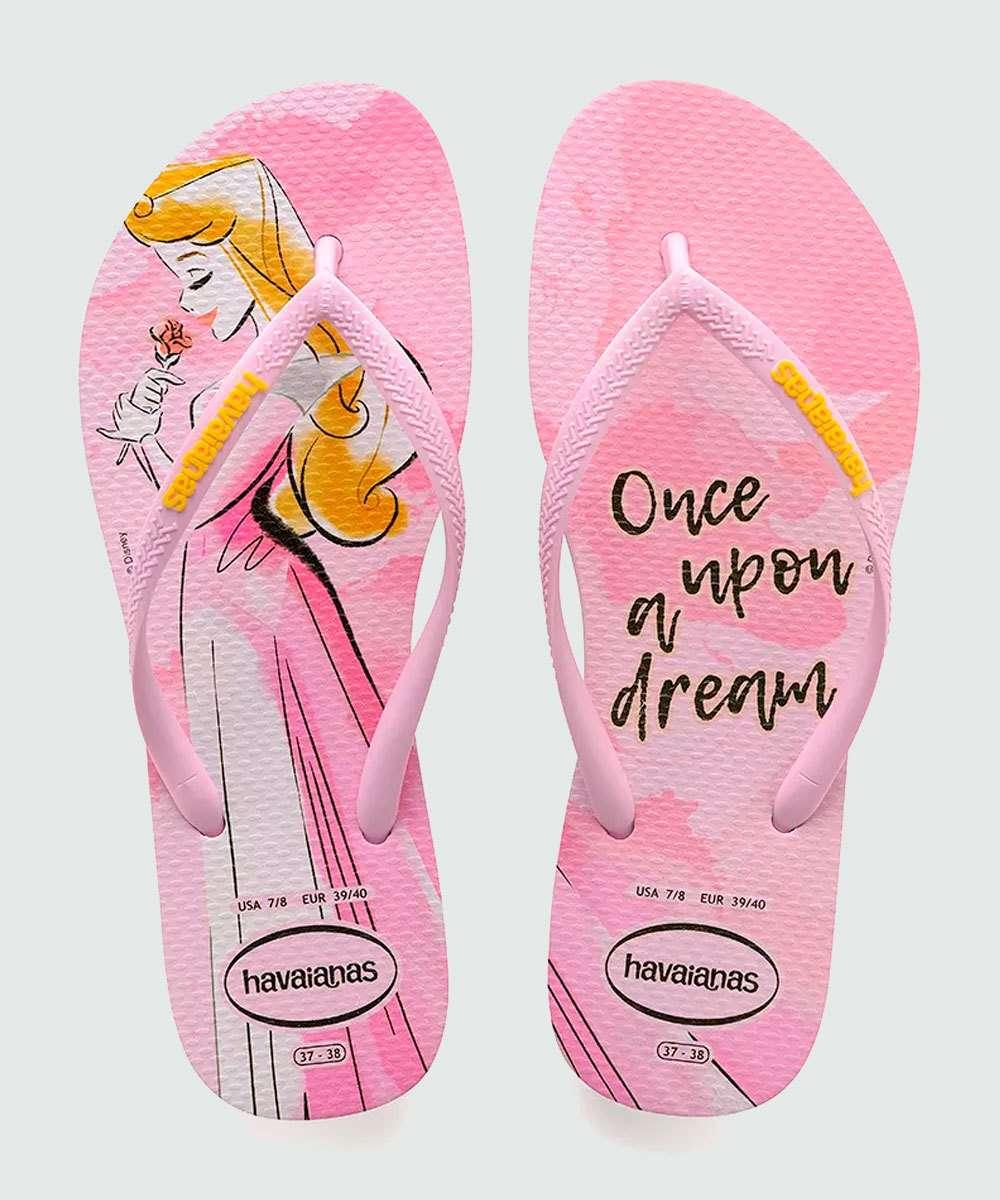 Chinelo Feminino Princesa Aurora Slim Havaianas 2108