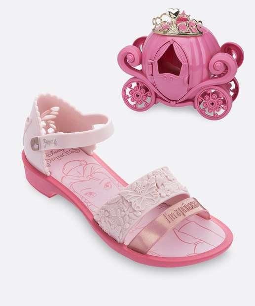 Image_Sandália Infantil Princesas Fairytale Brinde Grendene Kids