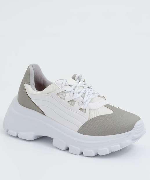 Image_Tênis Feminino Chunky Sneaker Recorte Vizzano