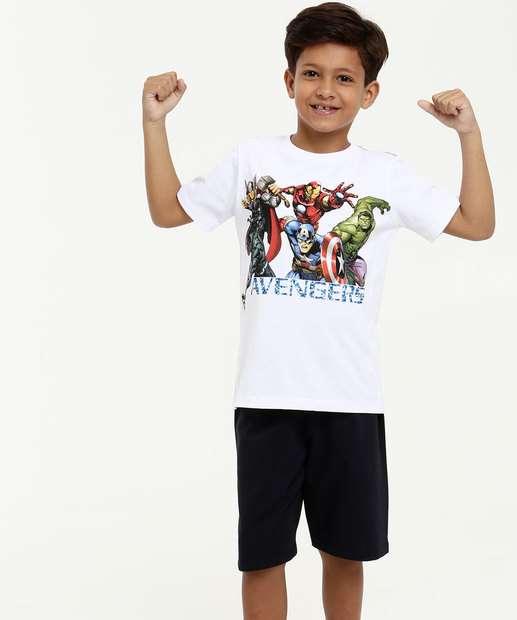 Image_Conjunto Infantil Estampa Vingadores Manga Curta Marvel