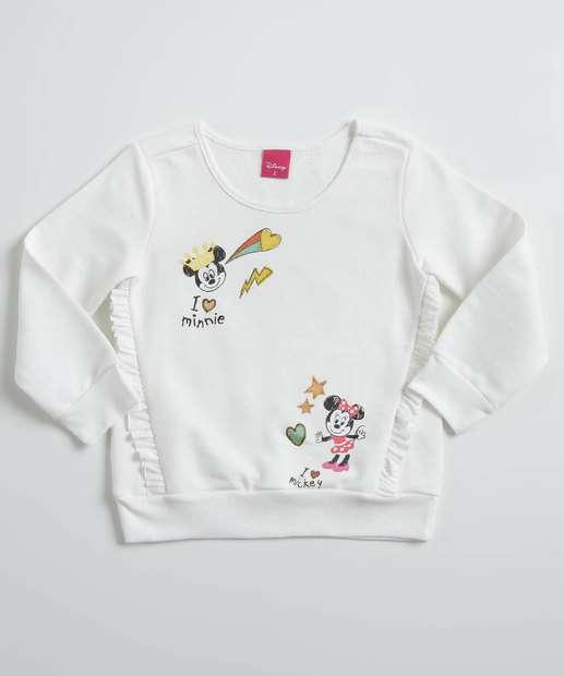 Image_Blusa Infantil Moletinho Babado Minnie Disney