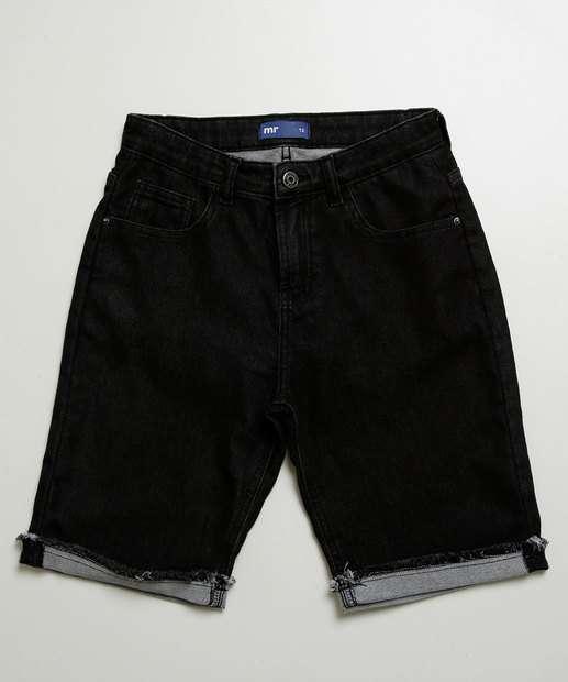 Image_Bermuda Juvenil Jeans Bolso Barra Desfiada MR