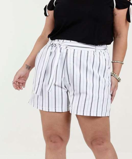 Image_Bermuda Feminina Clochard Sarja Listrada Plus Size Razon