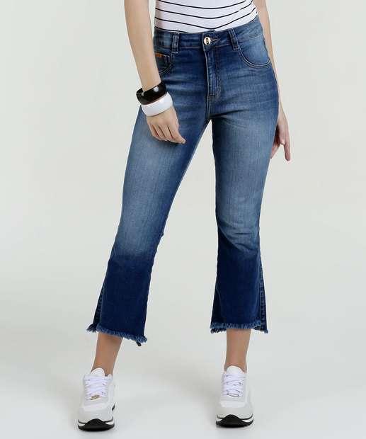 Image_Calça Feminina Jeans Stretch Capri Biotipo