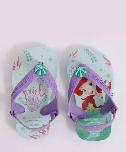 Image_Chinelo Havaianas Infantil Ariel Baby Disney