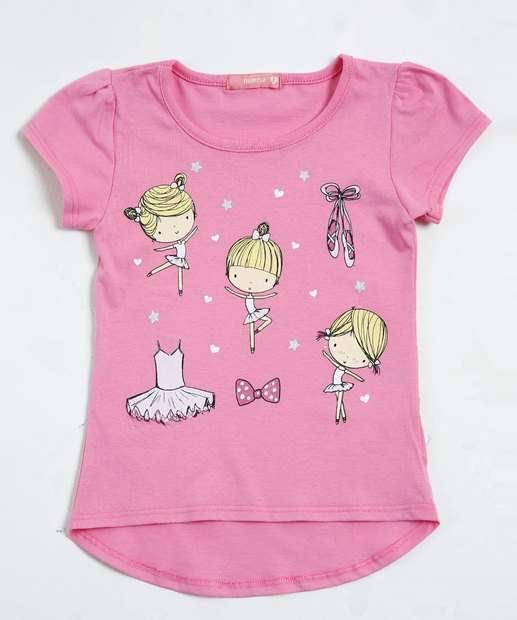 Image_Blusa Infantil Estampa Bailarina Marisa
