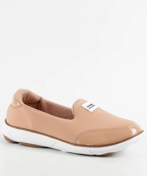 f73636f68 Tênis Feminino Casual Slipper Ultra Conforto Modare