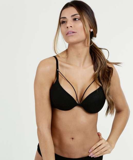 5f3ee6314 Sutiã Feminino Tiras Strappy Marisa