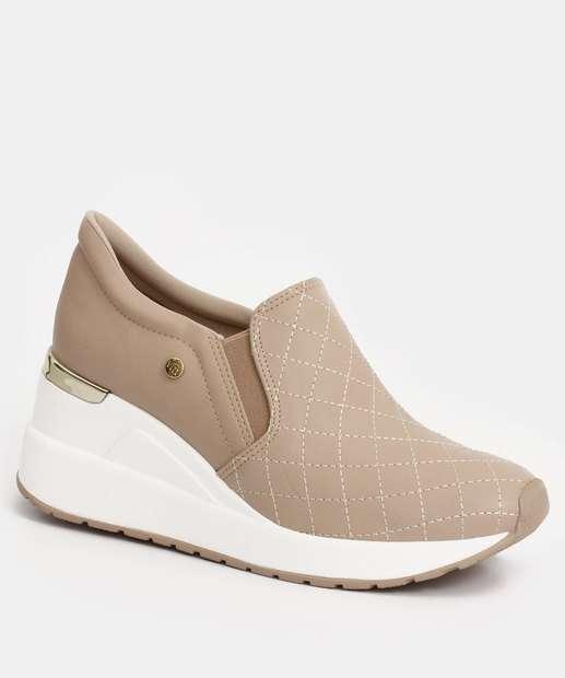 Image_Tênis Feminino Sneaker Plataforma Slip On Via Marte