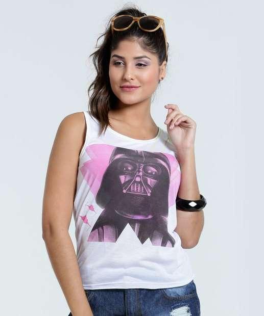 Image_Blusa Feminina Star Wars Vader Regata Disney