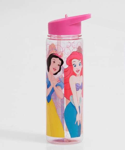 Image_Garrafa Squeeze Feminina Estampa Princesas 670ml Disney