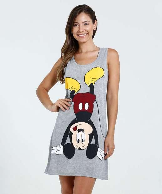 Image_Camisola Feminina Mickey Nadador Disney