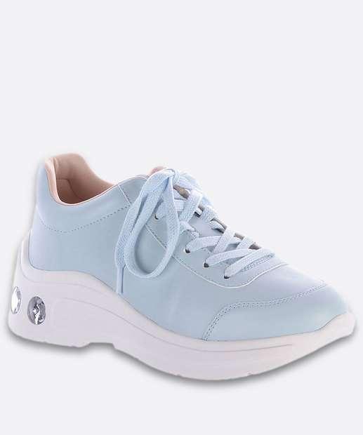 Image_Tênis Feminino Chunky Sneaker Pedraria Zatz