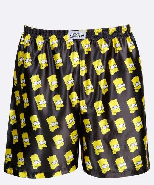 Image_Cueca Masculina Samba Canção Bart Simpsons