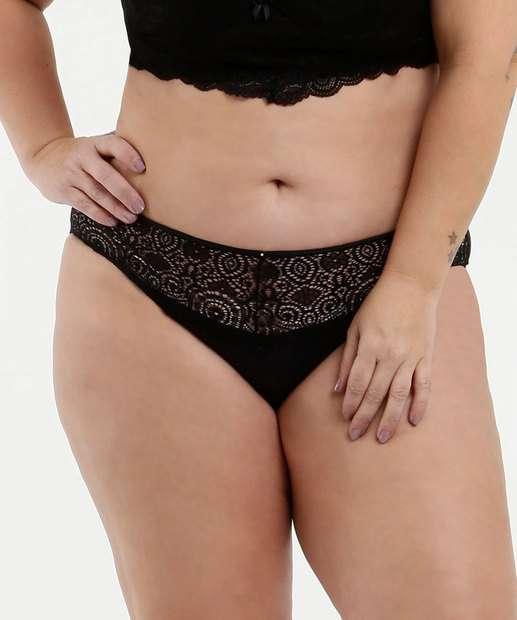 Image_Calcinha Feminina Biquíni Recorte Renda Plus Size Marisa