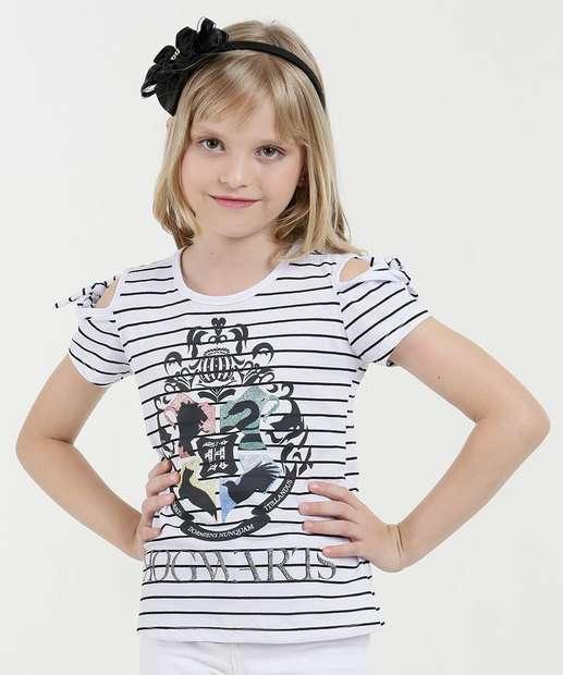 Image_Blusa Infantil Listrada Harry Potter Warner
