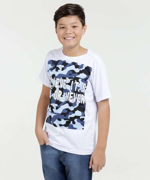 Image_Camiseta Juvenil Estampa Frontal Eagle For Man Brazil
