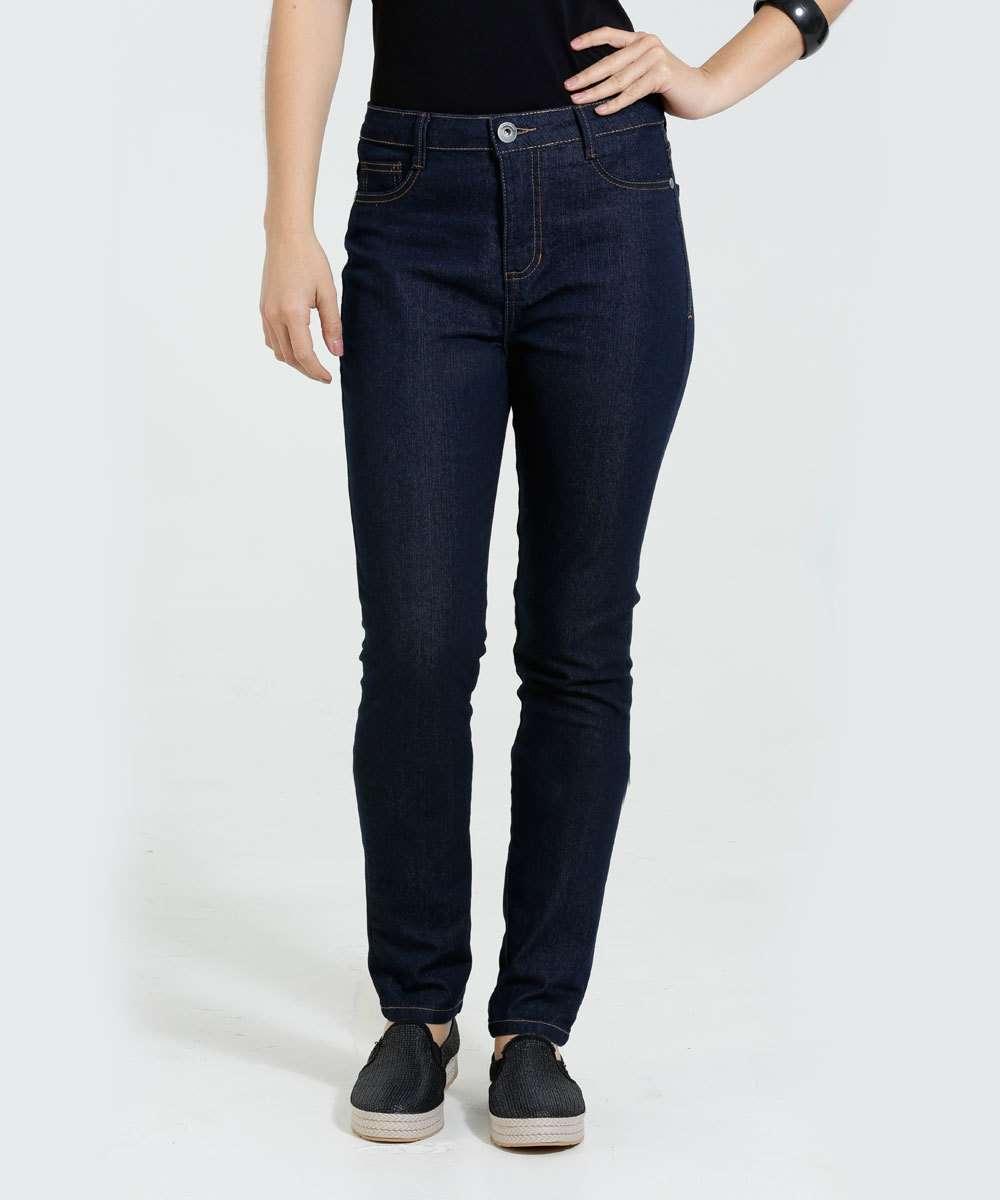 5e65764b9 Menor preço em Calça Feminina Skinny Stretch Jeans Marisa