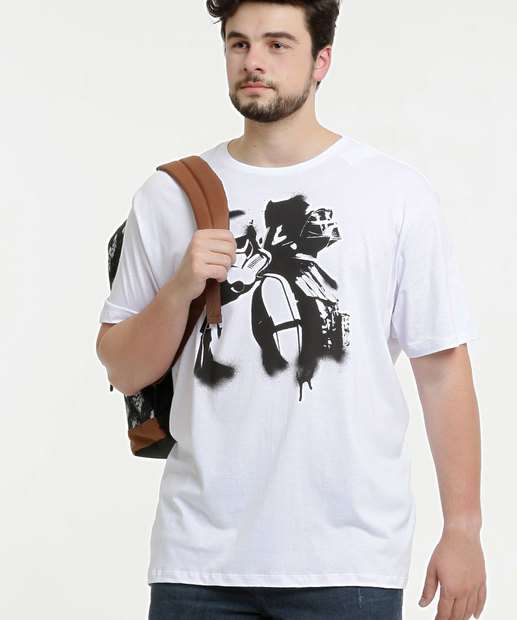 Image_Camiseta Masculina Star Wars Plus Size Disney