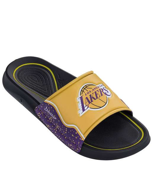 Image_Chinelo Masculino Slide NBA Lakers Rider 11273
